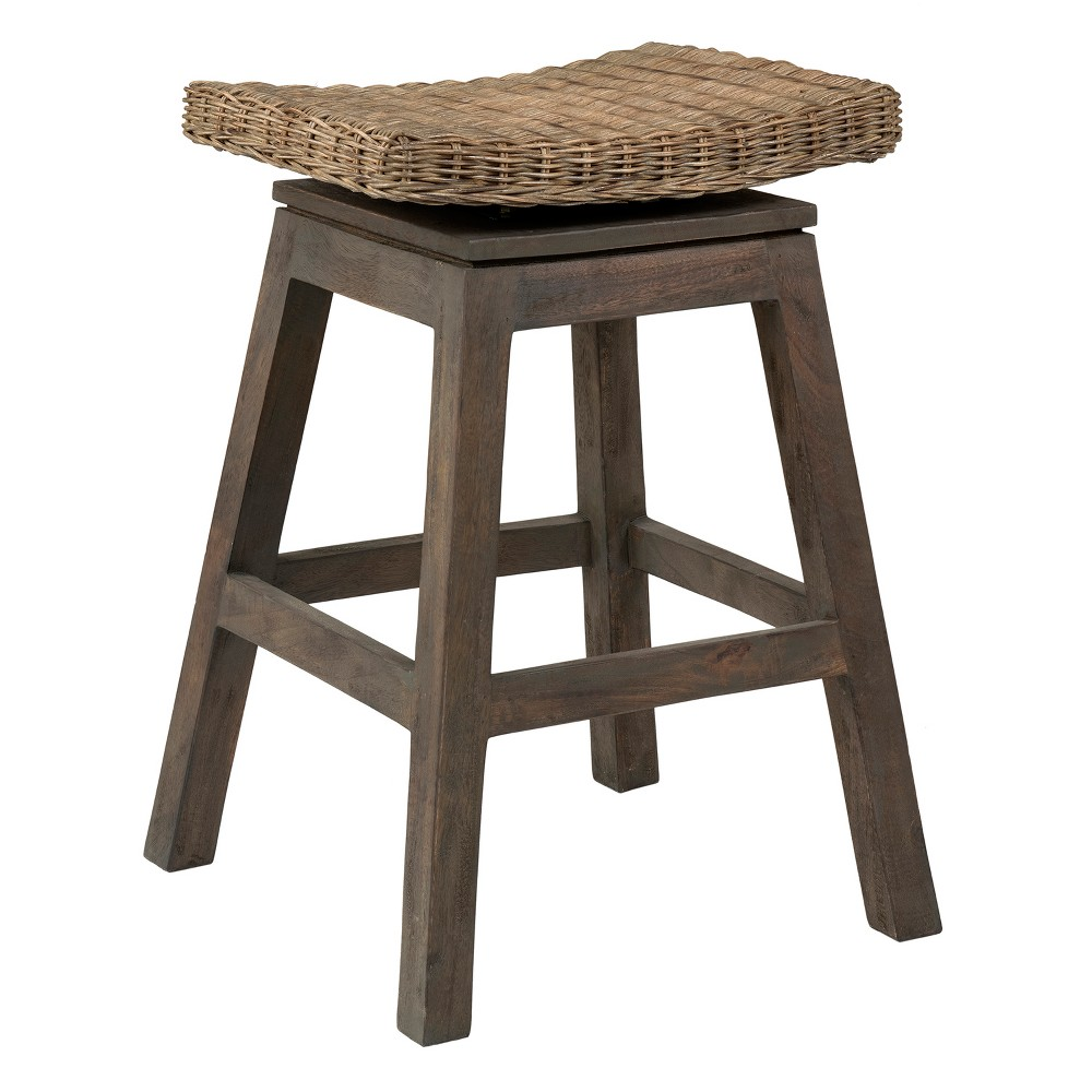 White Modern Desk Chair, East At Main24 Canton Rattan Counter Height Barstool Brown East At Main Dailymail