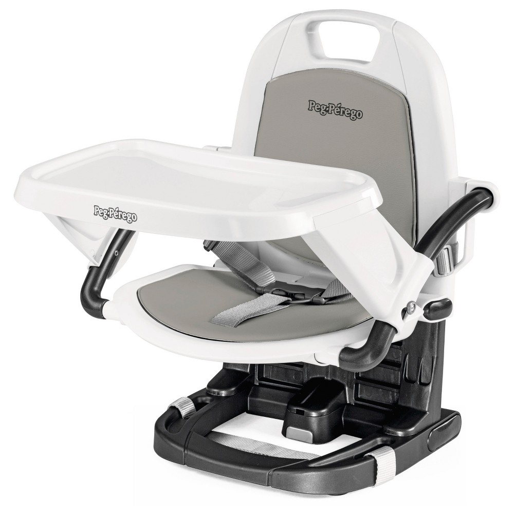 Peg Perego Rialto booster high chair, Ice (White)