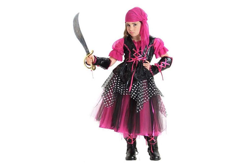 Princess Paradise Kids' Caribbean Pirate Halloween Costum...
