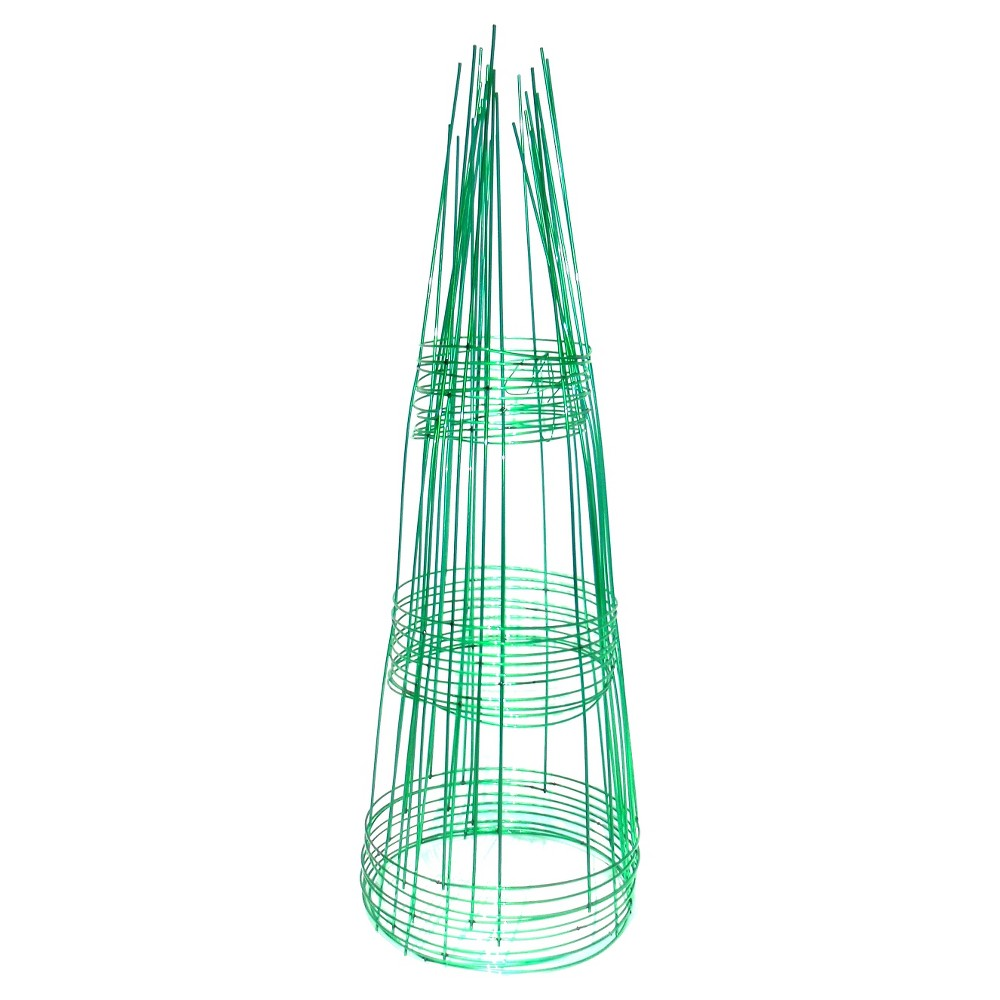 "Image of ""12"""" x 33"""" Plant Holder Support 10pk - Emerald - Glamos, Green"""