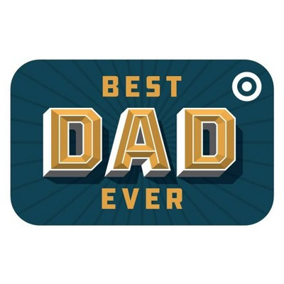 Best Dad Ever Target GiftCard $50