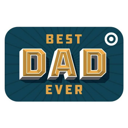 Best Dad Ever Target GiftCard - image 1 of 1