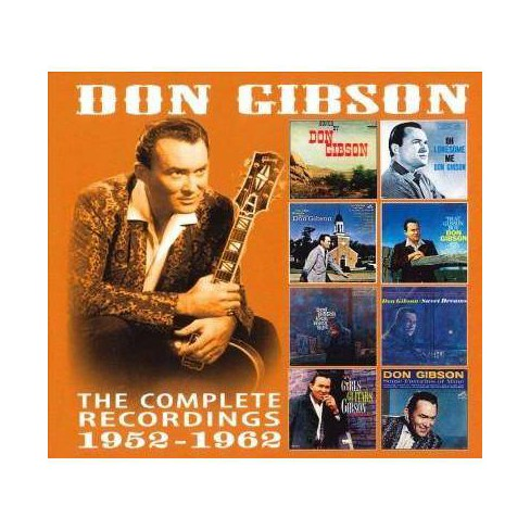 Don Gibson - Complete Recordings: 1952-1962 (CD) - image 1 of 1
