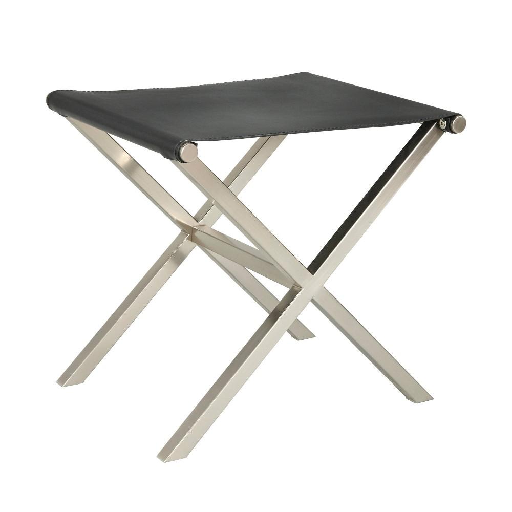 Superb Thad Stool Black Angelo Home Ncnpc Chair Design For Home Ncnpcorg