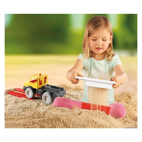 Playmobil Dump Truck, mini figures image number null