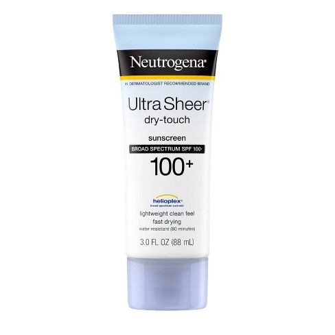 Neutrogena Ultra Sheer Dry Touch Water Resistant Sunscreen - SPF 100 - 3 fl oz - image 1 of 4