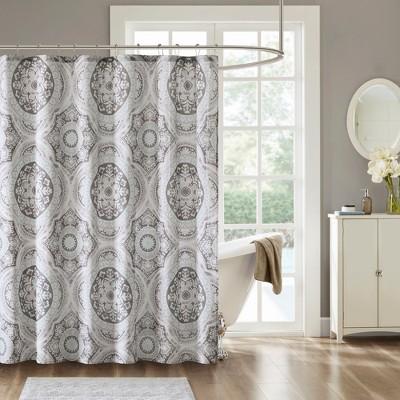 Von Cotton Printed Shower Curtain