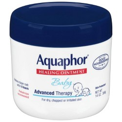Aquaphor Baby Healing Ointment - Advanced Therapy to Help Heal Diaper Rash and Chapped Skin - 14oz. Jar