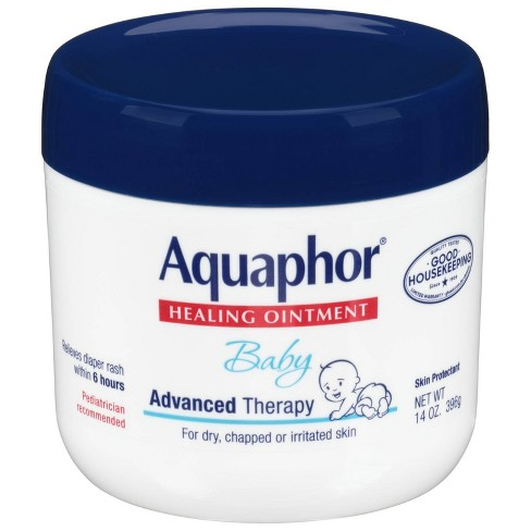 Aquaphor Baby Healing Ointment - Advanced Therapy to Help Heal Diaper Rash and Chapped Skin - 14oz. Jar - image 1 of 5