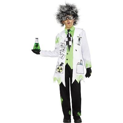 Kids' Mad Scientist Halloween Costume