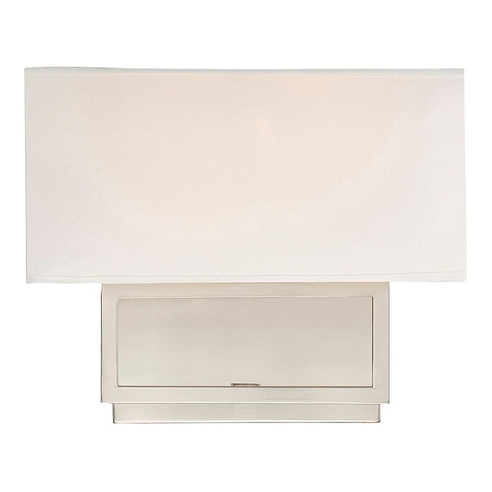 Brushed Nickel Sconce Wall Lights (Set of 2) - Z-Lite