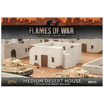 Medium Desert House Miniatures Box Set
