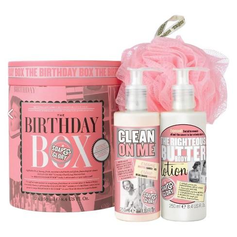 Soap Glory The Birthday Box Gift Set Target