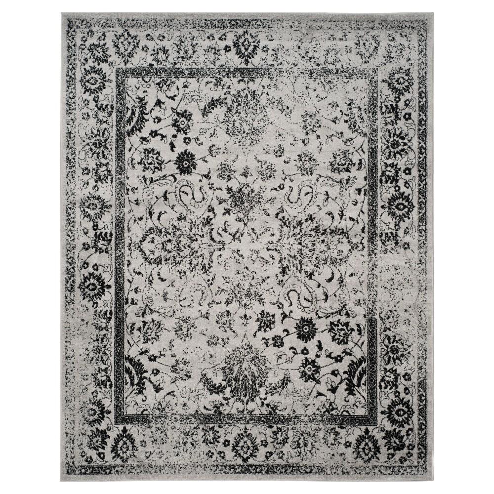 Reid Area Rug - Gray/Black (9'x12') - Safavieh