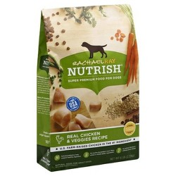 Rachael Ray Nutrish Natural Dry Dog Food  Real Chicken & Veggies Recipe