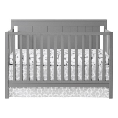 Oxford Baby Lazio 4-in-1 Convertible Crib - Dove Gray