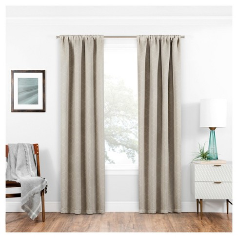 Isante Trellis Thermaweave Blackout Curtain - Eclipse™ - image 1 of 1