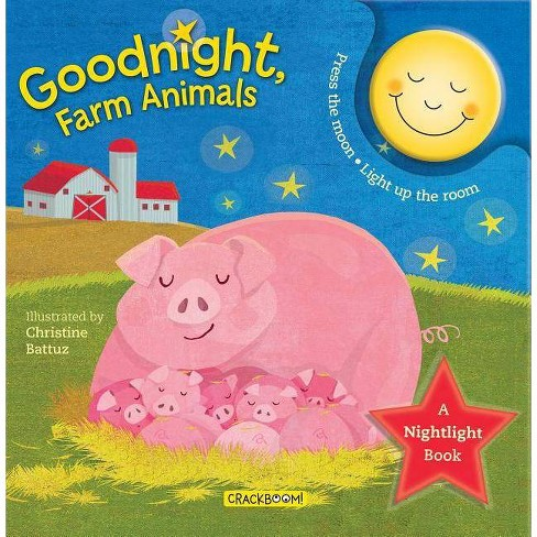 Goodnight, Farm Animals - (Nightlight Book) (Board_book) - image 1 of 1