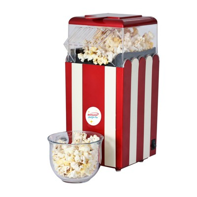 Brentwood Classic Striped 8-Cup Hot Air Popcorn Maker