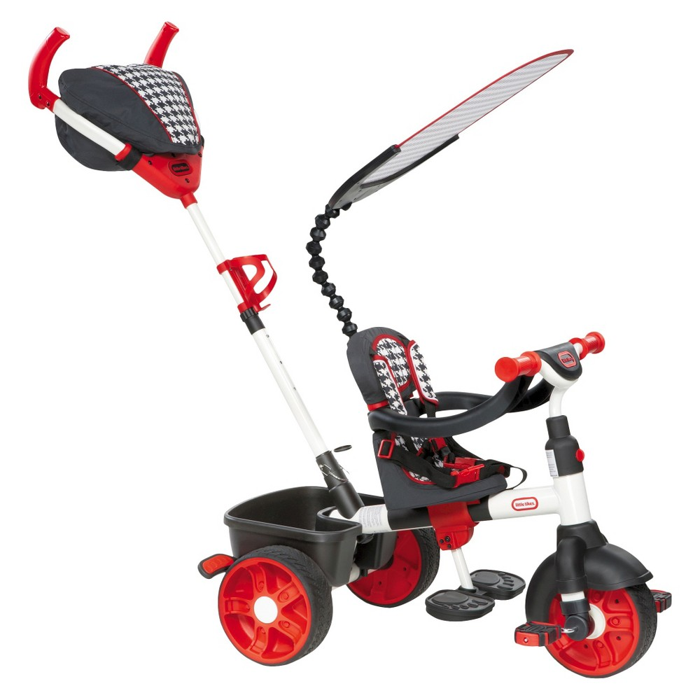 Little Tikes 4-In-1 Sports Edition Trike - Red, Red/White