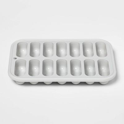 8.55oz Silicone Ice Cube Tray Gray - Room Essentials™