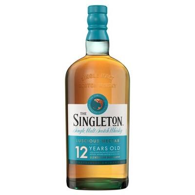 Singleton of Glendullan 12yr Single Malt Scotch Whisky - 750ml Bottle