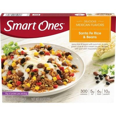 Smart Ones Classic Favorites Santa Fe Style Frozen Rice & Beans - 9oz