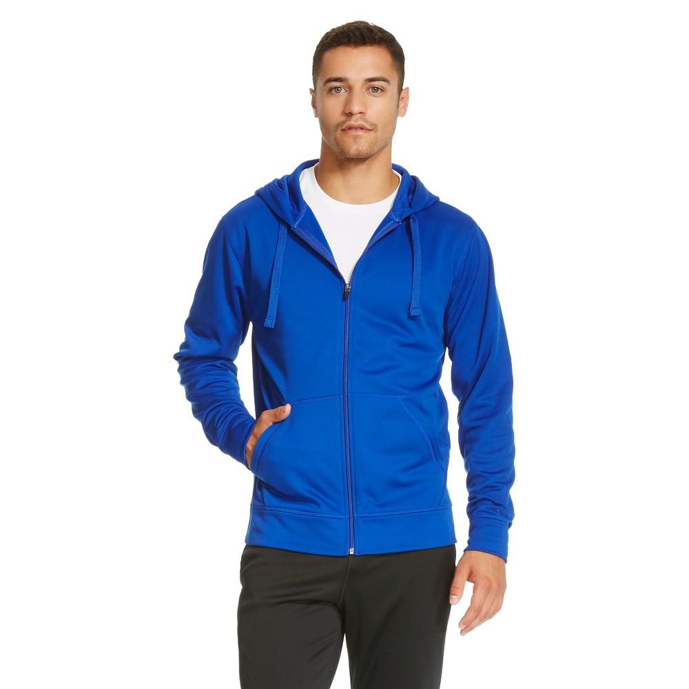 Men's Tech Fleece Full Zip Hoodie - C9 Champion Blue S, Shield Blue