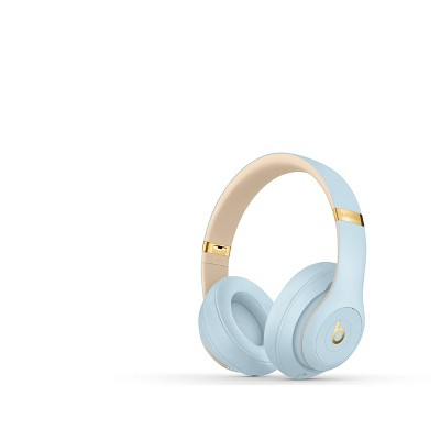 Beats Studio3 Wireless Over-Ear Noise Canceling Headphones - Crystal Blue
