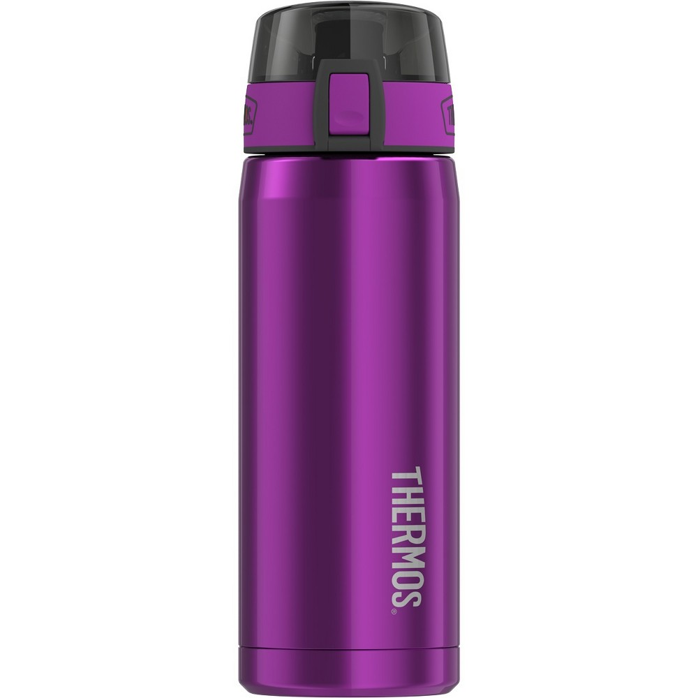 Thermos 18oz Vacuum Insulated Stainless Steel Hydration Bottle - Aubergine, Purple
