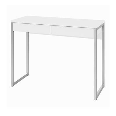 Aurora 2 Drawer Computer Desk In White Tvilum by Tvilum