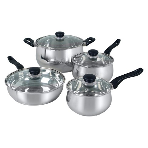 Oster Rametto 8pc Stainless Steel Cookware Set - image 1 of 1