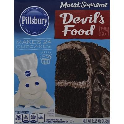 Pillsbury Moist Supreme Devil's Food Cake Mix - 15.25oz
