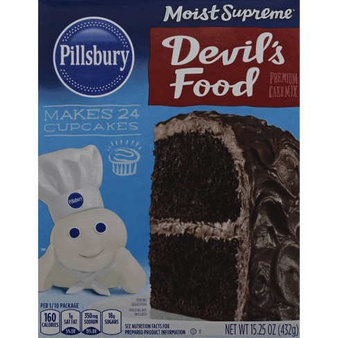 Pillsbury Moist Supreme Devil's Food Cake Mix - 15.25oz - image 1 of 4