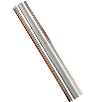 St Louis Crafts 36 Gauge Aluminum Metal Foil Roll, 12 Inches x 50 Feet