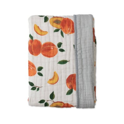 Red Rover Cotton Muslin Quilt - Peachy