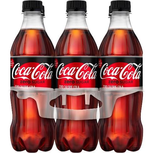 Coca-Cola Zero Sugar - 6pk/16.9 fl oz Bottles - image 1 of 3