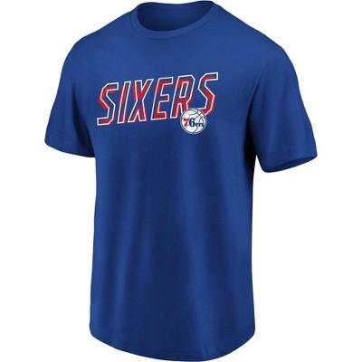 NBA Philadelphia 76ers Men's Bi-blend Short Sleeve T-Shirt