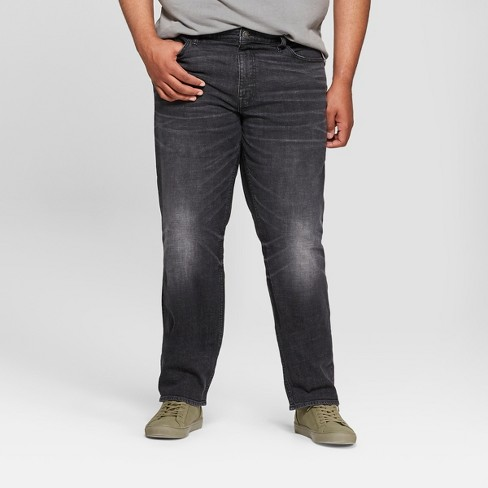Men's Tall Slim Fit Denim - Goodfellow & Co™ Washed Black - image 1 of 3