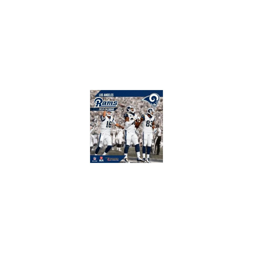 Los Angeles Rams 2019 Calendar - (Paperback)