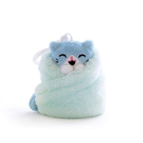 Hashtag Collectibles Purritos 3 Inch Cat In Blanket Plush Key Ring - Tuna - image 1 of 2