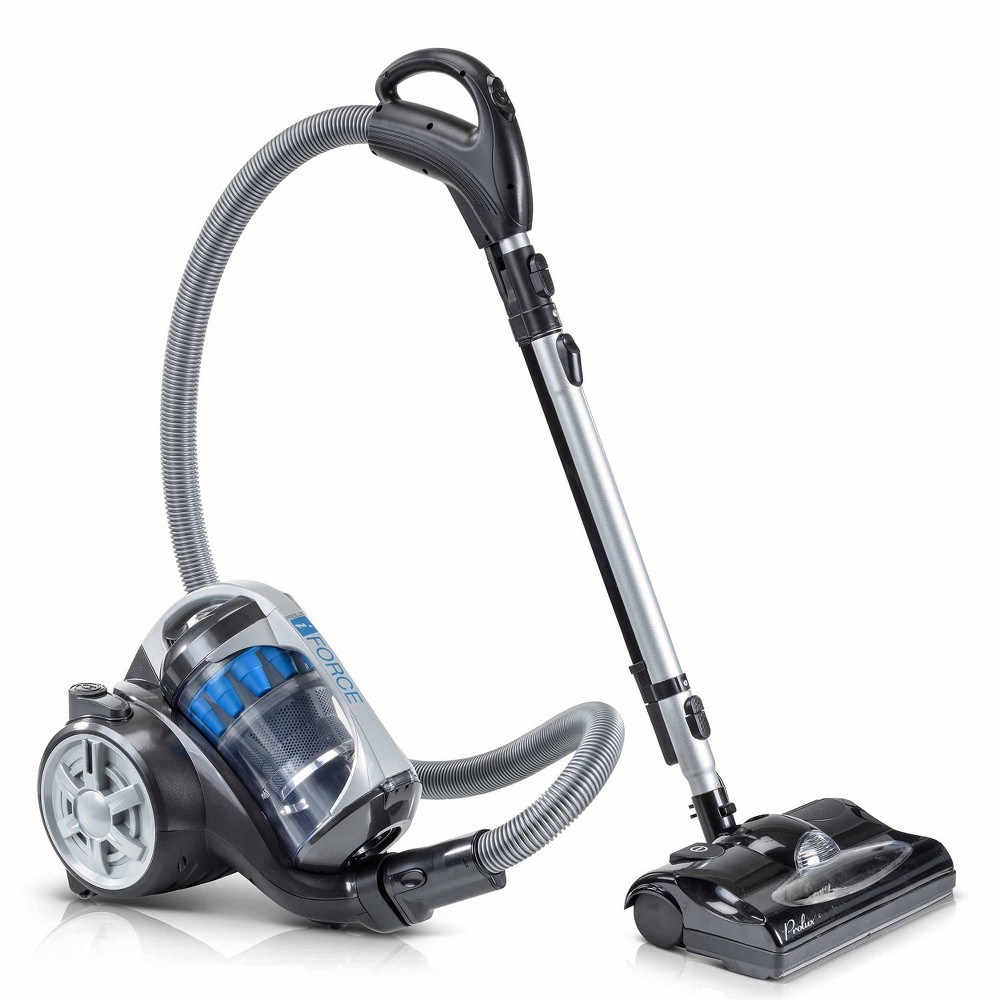 Image of Prolux iForce Bagless Canister Vacuum Cleaner - Blue