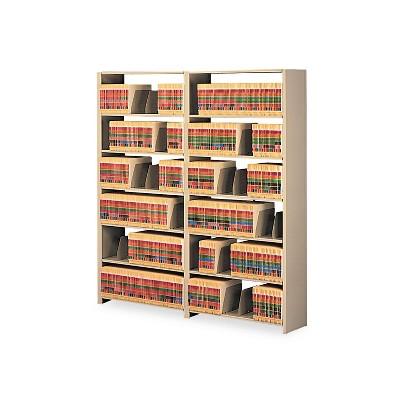Tennsco Snap-Together Steel Seven-Shelf Closed Starter Set 36w x 12d x 88h Sand 1288PCSD