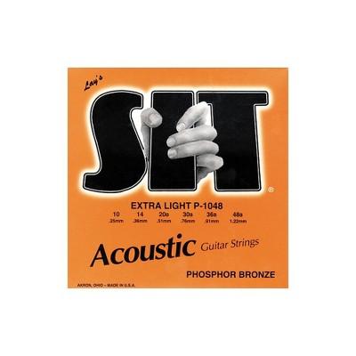 SIT Strings P-1048 Phosphor Extra Light Acoustic Guitar Strings