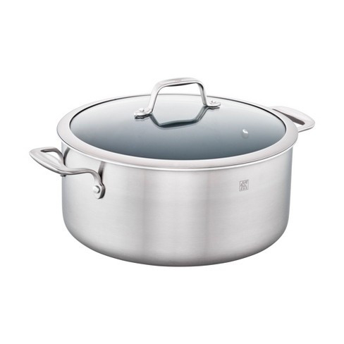 ZWILLING Spirit 3-ply 8-qt Stainless Steel Ceramic Nonstick Stock Pot - image 1 of 4