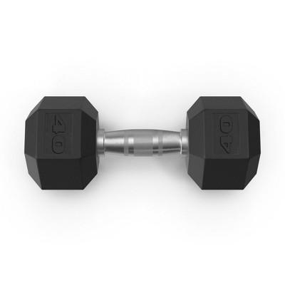 Tru Grit Hex Dumbbell - 40lbs