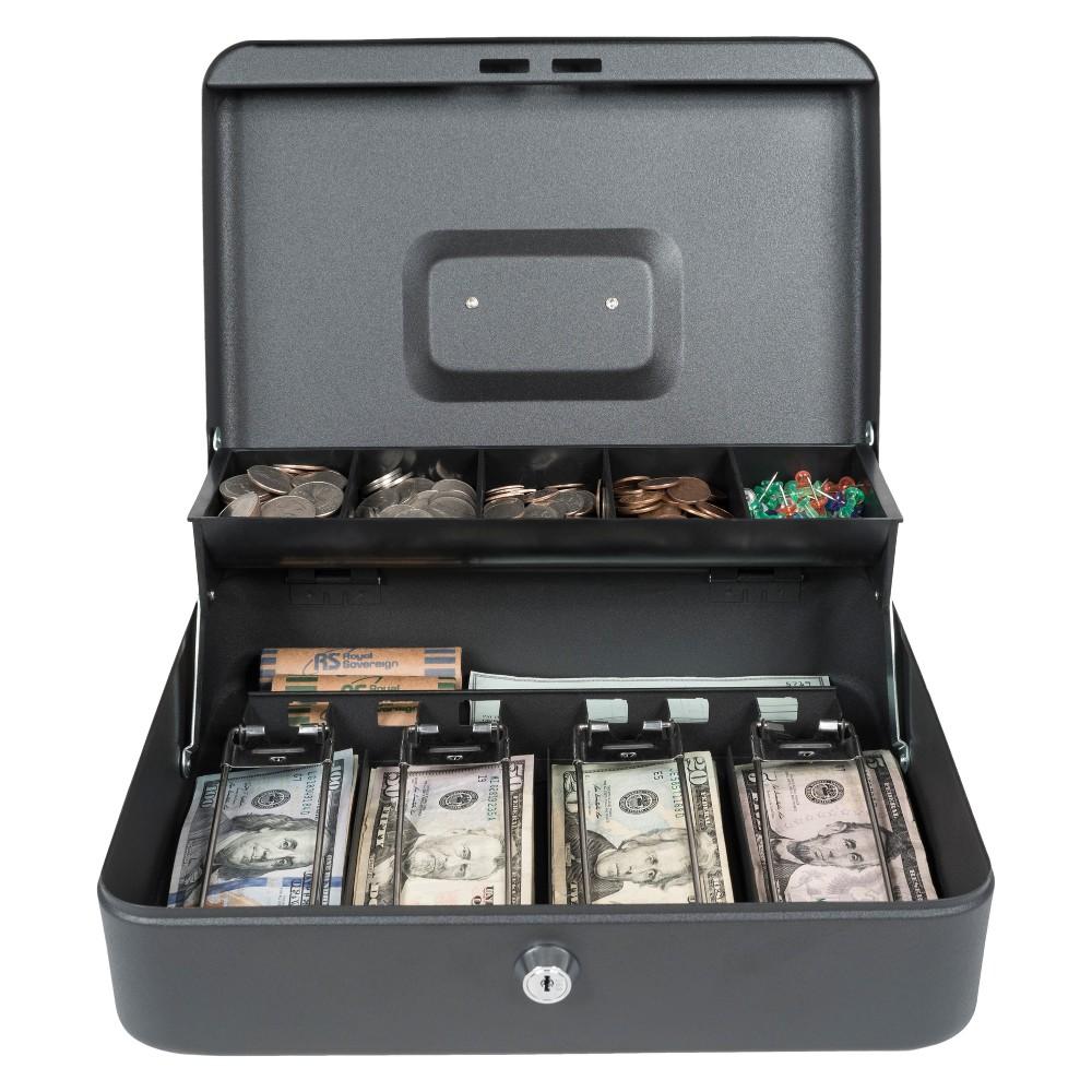 Image of Tiered Tray Cash Box RSCB-400 - Royal Sovereign