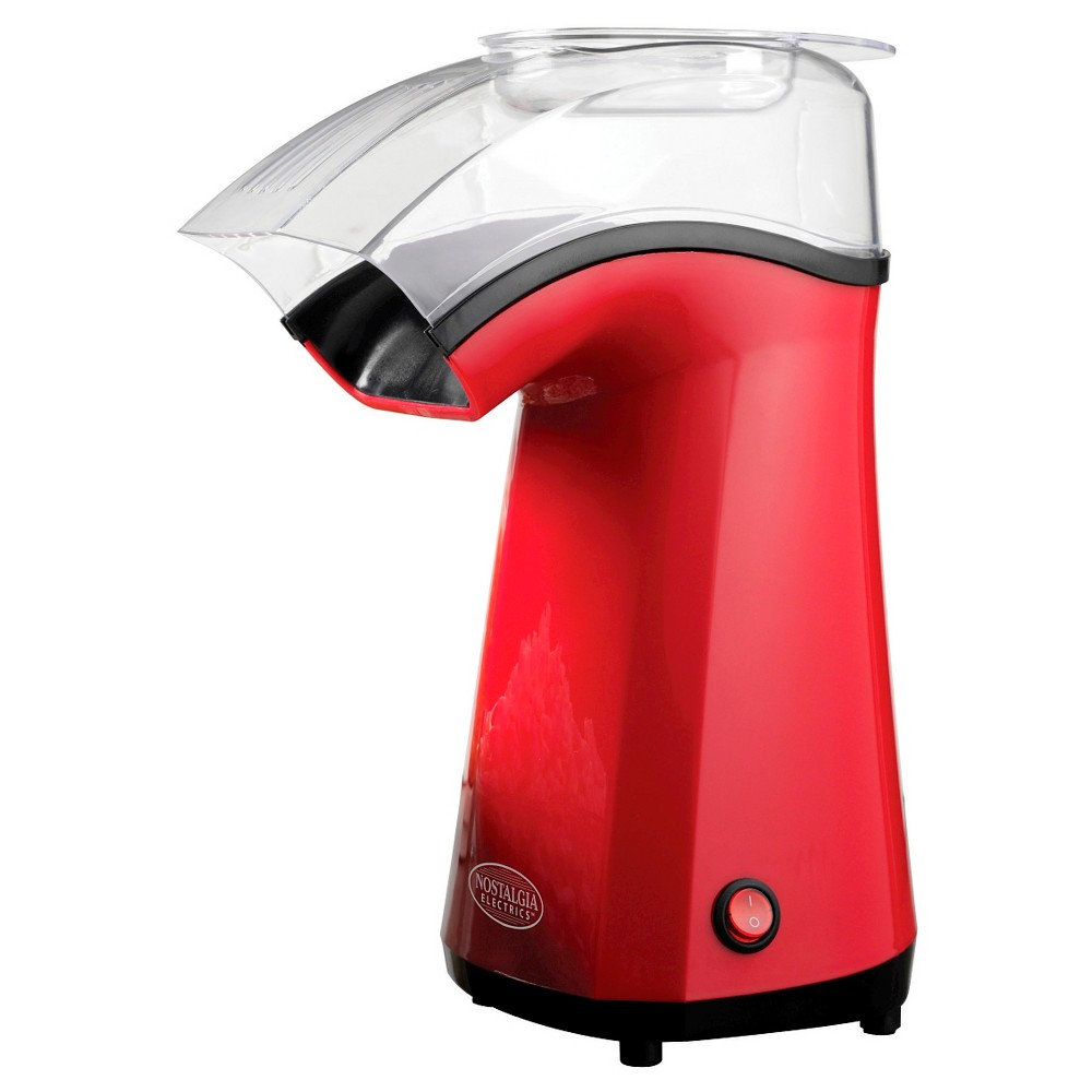 Image of Nostalgia Air-Pop Hot Air Popcorn Popper - Red APH200RED