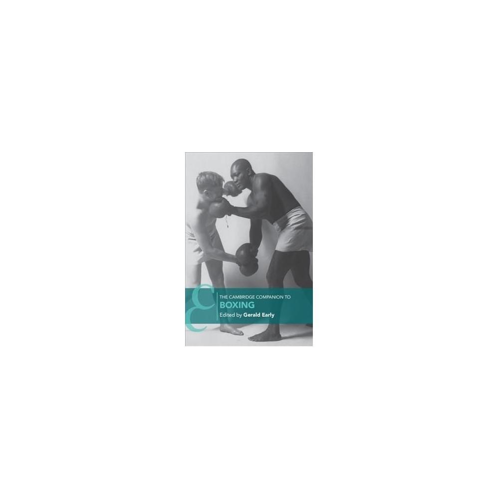 Cambridge Companion to Boxing - (Cambridge Companions to Literature) (Paperback)