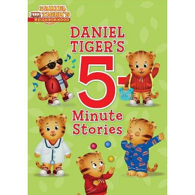 Daniel Tiger's 5 Minute Stories (School And Library) (Hardcover)